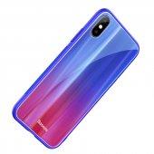 Baseus Laser Luster Kılıf Apple iPhone X Kapak-3
