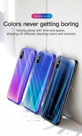 Baseus Laser Luster Kılıf Apple iPhone X Kapak-9