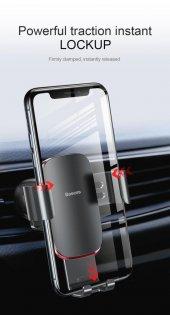 Baseus Metal Age Gravity Car Mount Araç İçi Telelefon Tutucu-8