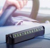 Baseus Tock Parking Number Card Araç İçi Telefon Numaratörü