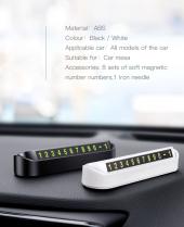 Baseus Tock Parking Number Card Araç İçi Telefon Numaratörü-2