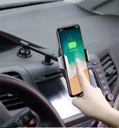 Baseus Heukj Wireless Charger Gravity CarMount Şarjlı Araç Tutucu