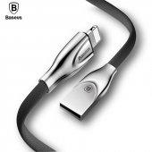 Baseus Zinc Fabric Cloth USB Kablo 2A İphone