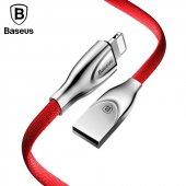 Baseus Zinc Fabric Cloth USB Kablo 2A İphone-2
