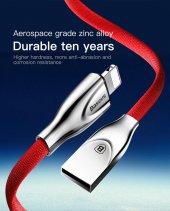 Baseus Zinc Fabric Cloth USB Kablo 2A İphone-5