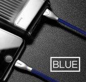 Baseus Zinc Fabric Cloth USB Kablo 2A İphone-6