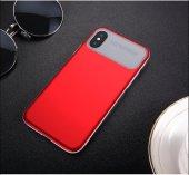 Baseus Slim Lotus Case kapak Apple iPhone X silikon Kılıf
