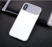 Baseus Slim Lotus Case kapak Apple iPhone X silikon Kılıf-2