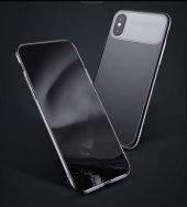 Baseus Slim Lotus Case kapak Apple iPhone X silikon Kılıf-3
