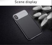 Baseus Slim Lotus Case kapak Apple iPhone X silikon Kılıf-7