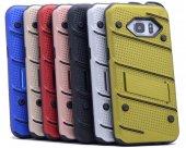 Samsung Galaxy Note5 Kılıf Iron Standlı Sabitlenebilir Arka Kapak-2