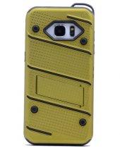 Samsung Galaxy Note5 Kılıf Iron Standlı Sabitlenebilir Arka Kapak-3
