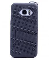 Samsung Galaxy Note5 Kılıf Iron Standlı Sabitlenebilir Arka Kapak-5