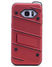 Samsung Galaxy Note5 Kılıf Iron Standlı Sabitlenebilir Arka Kapak-7
