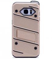 Samsung Galaxy Note5 Kılıf Iron Standlı Sabitlenebilir Arka Kapak-8