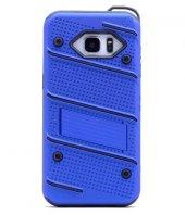 Samsung Galaxy Note5 Kılıf Iron Standlı Sabitlenebilir Arka Kapak-9