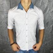 Bpm Plus Quality Yaka Çıkarılabilir Polımer Likralı Gömlek