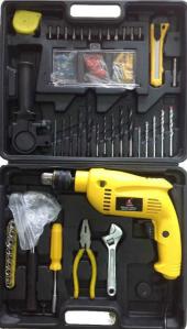 Darbeli Hilti Matkap 77 Parça 600 W Kablolu Full Set İmpact Drill