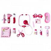 Barbie Kutulu Büyük Doktor Seti Oyuncak 14 Parça