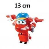 Harika Kanatlar Flip Robota Dönüşen Figür - 13 cm-4