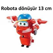 Harika Kanatlar Flip Robota Dönüşen Figür - 13 cm-5