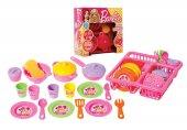 Oyuncak Mutfak Seti Barbie Bulaşıklık
