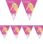 Barbie Bayrak Flama Barbie Parti Malzemeleri