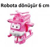 Harika Kanatlar Oyuncak Dizzy - Mini Helikopter Figür Robot - 6 c-4