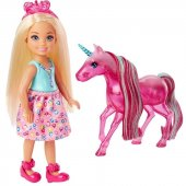 Barbie Dreamtopia Chelsea Ve Tek Boynuzlu Atı