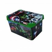 Marvel Yenilmezler Oyuncak Kutusu 10 Litre