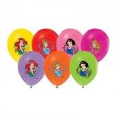 Prensesler Resimli Balon 25li