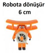Harika Kanatlar Grand Albert - Robota Dönüşen Mini Uçak Figür - 6-5