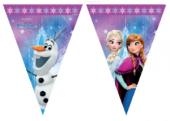 Frozen Elsa Bayrak - Frozen Elsa Doğum Günü Süsleri