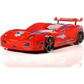 Araba Yatak Lüx Enzo Arabalı Yatak Kırmızı