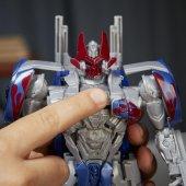Transformers TF5 Turbo Changers Hızlı Dönüşen Figür Optimus Prime-6
