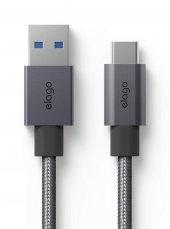 Elago Type C 3.0 To Usb 3.0 Yüksek Hızlı Şarj Data Kablosu