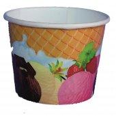 Dondurma Kabı Karton Baskılı 100cc 100 Adet