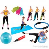 Delta C8 6525 Pilates Egzersiz Seti
