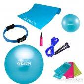 Delta Unc 55 Turkuaz Pilates Egzersiz Seti
