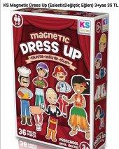 Ks Magnetic Dress Up (Eşleştir, Değiştir, Eğlen)(3+yaş)