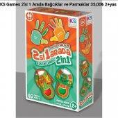Ks Games 2' Si 1 Arada Bağcıklar Ve Parmaklar (2+yaş)