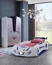 Araba Yataklı Farinay Süper Garage Çocuk Odası Takımı.