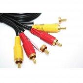TeknoGreen TK3R-015 1.5mt 3 Rca 3 Rca Kablo-3
