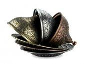 Osmanlı Motifli Lokumluk Büyük - Gümüş-3