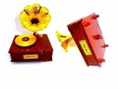 Gramofon Müzik Kutusu Nostaljik Müzik Kutusu-3