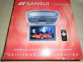 Sansui DM-2500RM Tavan 7 inc TFT LCD Monitör