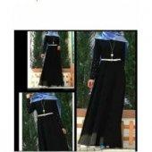 Bayan İnci Taşlı Elbise