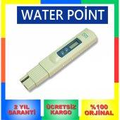 Tds Metre Termometreli Su Kalite Ölçüm Cihazı 2 Yıl Garantili