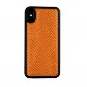 Wachikopa Apple iPhone XS MAX Hakiki Deri Kapak Back Cover Adams -5