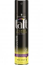 Taft Saç Spreyi No 5 Power Express Mega Güçlü